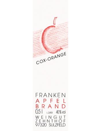 Apfelbrand vom Cox-Orange